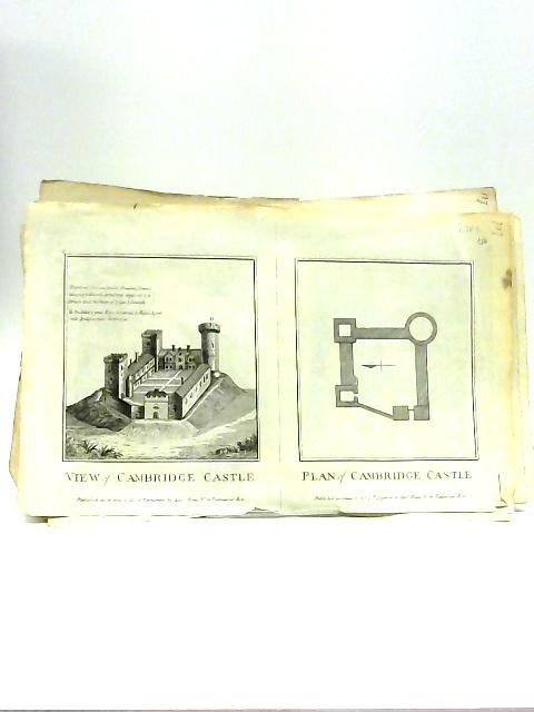 Collection of 15 18th centuary plates of various historical castles and buildings By Various