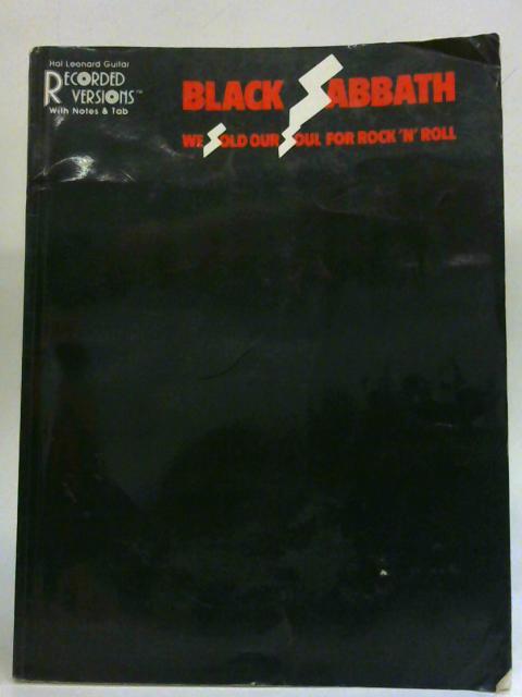 Black Sabbath - We Sold Our Soul for Rock 'n' Roll By Black Sabbath