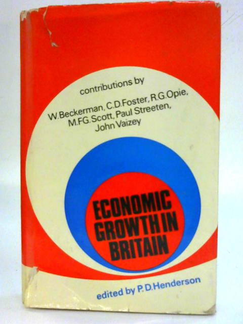 Economic growth in Britain. By P. D. Henderson
