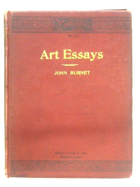 Practical Essays On Art By John Burnet