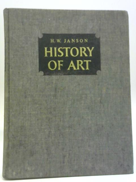 History Of Art By H W Janson