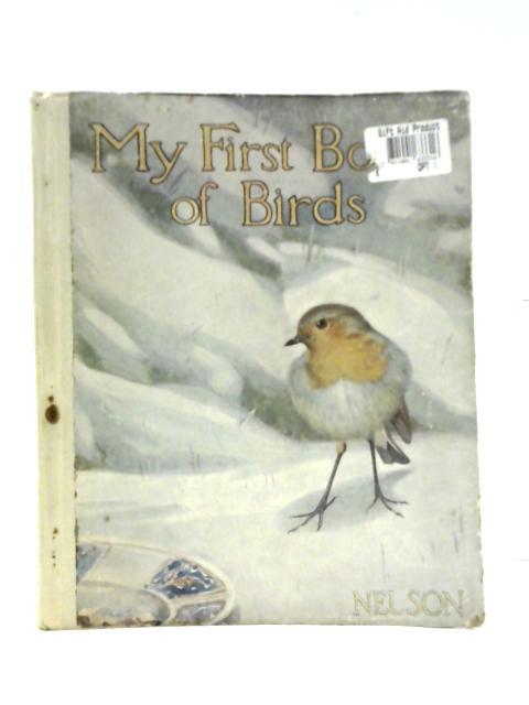 My First Book Of Birds By Burnett