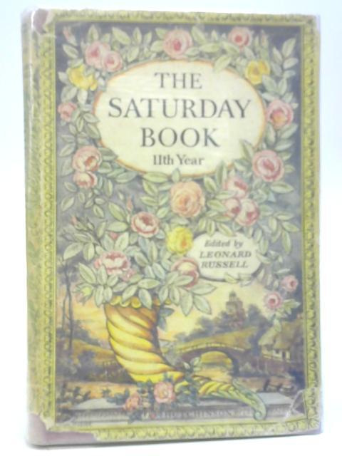 The Saturday Book No 11 By Anon