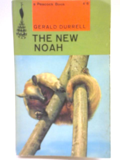 The New Noah By Gerald Durrell Used Good border=