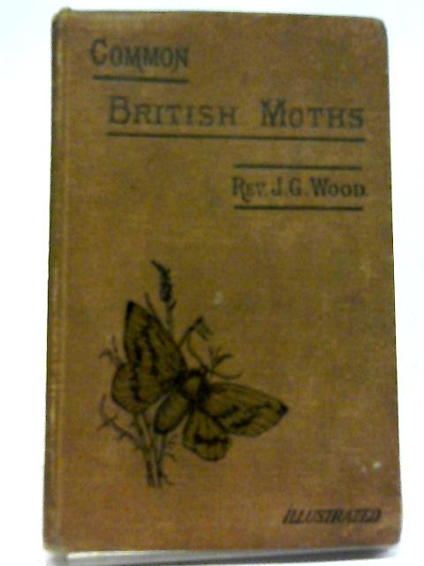 The Common Moths of England By Rev. J.G.Wood
