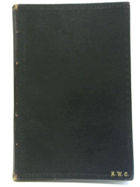 A Choir-Book of the Office of Holy Communion By J. Stainer