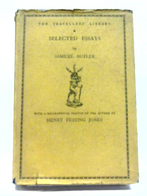 Selected Essays By S Butler