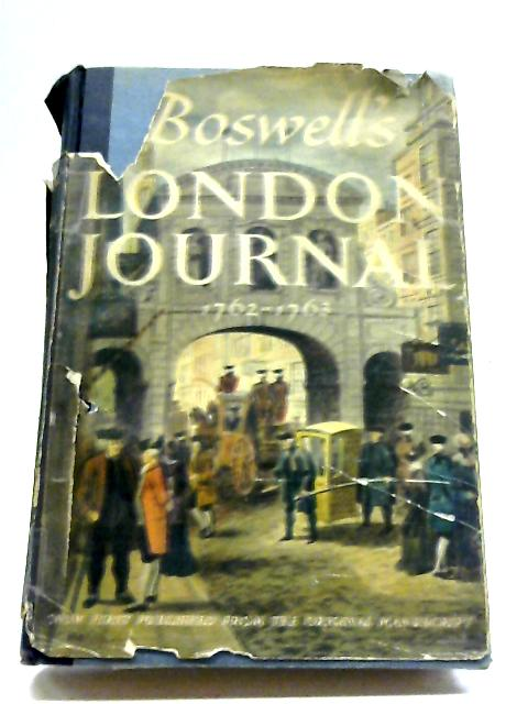 Boswells Life Johnson Volume by James Boswell