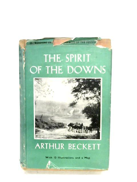 The Spirit Of The Downs By Arthur Beckett