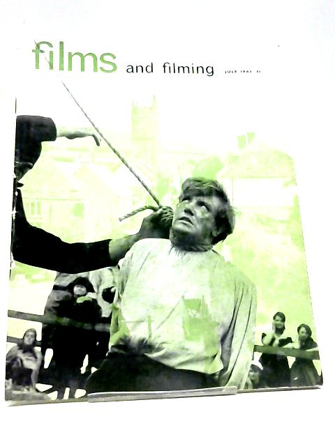 Films And Filming Magazine July 1963 A Taste For Celluloid By Various