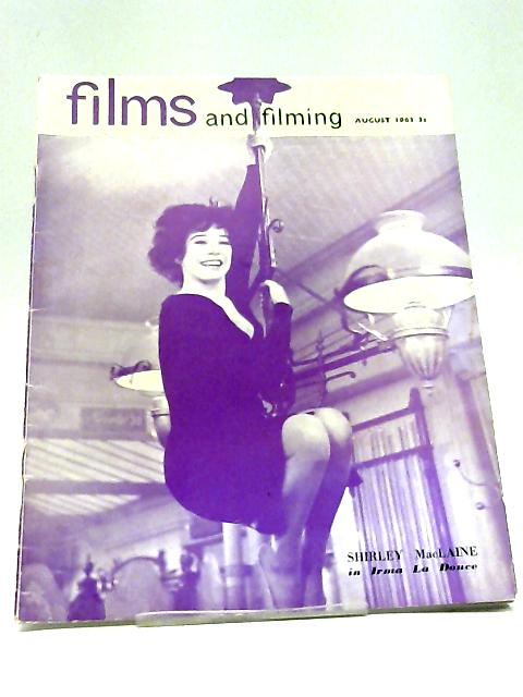 Films And Filming Magazine August 1963 Shirley Maclaine In Irma La Douche By Various