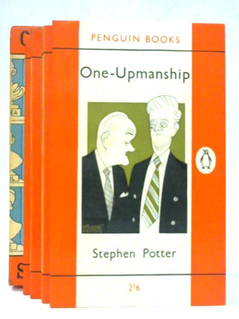 Gamesmanship, Lifemanship, One-upmanship, Supermanship Box Set 4 volumes in a slipcase By Stephen Potter