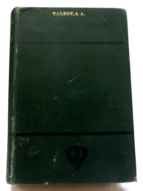 An English-Latin Gradus or Verse Dictionary By A. C. Ainger