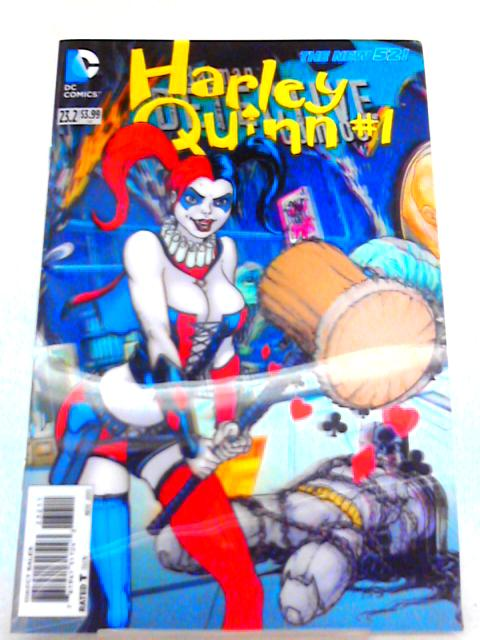 Batman Detective Comics 23.2 Harley Quinn comic 3D cover