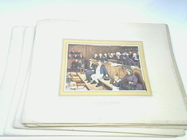 Pictures from Pickwick - Thirteen Plates By Cecil Aldin