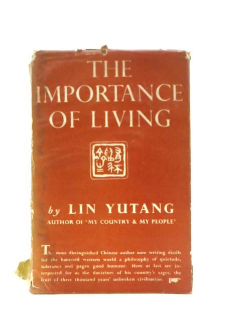 The Importance of Living By Lin Yutnag