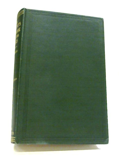 The Student's Handbook of British Mosses By H.N. Dixon