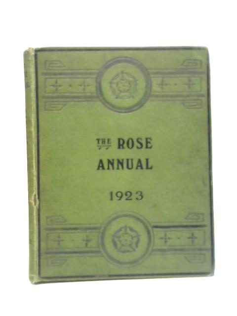 The Rose Annual for 1923 By Courtney Page