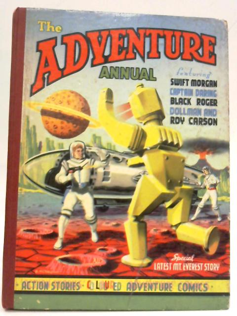 The Adventure Annual By Various Contributors
