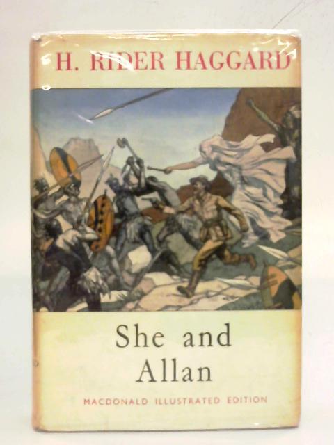 She and Allan by H. Rider Haggard
