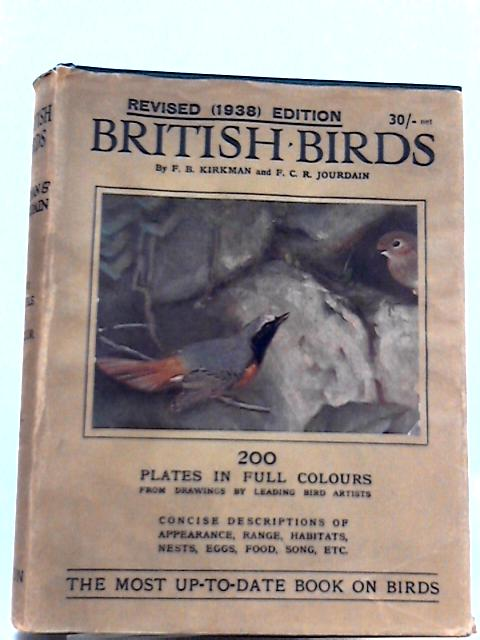British Birds By F. B. Kirkman, F. C. R. Jourdain