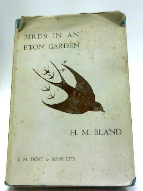 Birds In An Eton Garden By H.M Bland