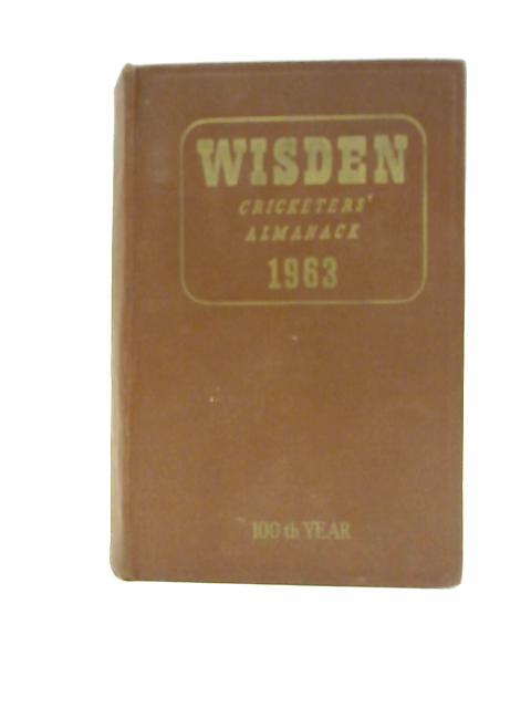 Wisden Cricketers Almanack 1963 By Preston Norman