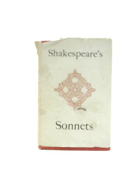 Shakespeare's Sonnets By Williams Shakespeare
