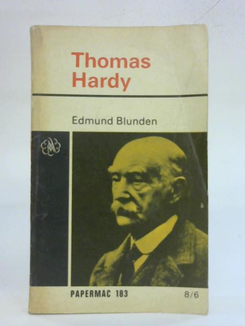 Thomas Hardy By E. Blunden