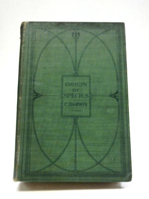 The Origin of Species By Darwin, Charles