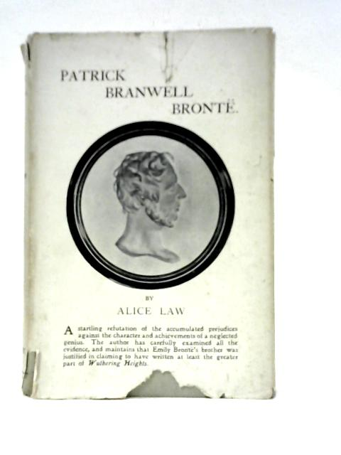 Patrick Branwell Bronte By Alice Law