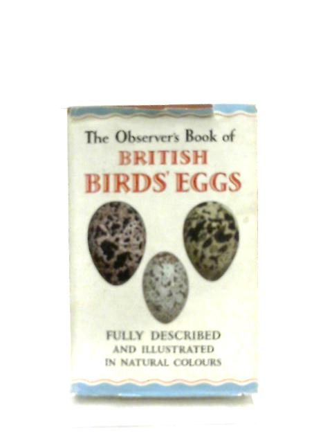 The Observer's Book of British Birds Eggs By G. Evans