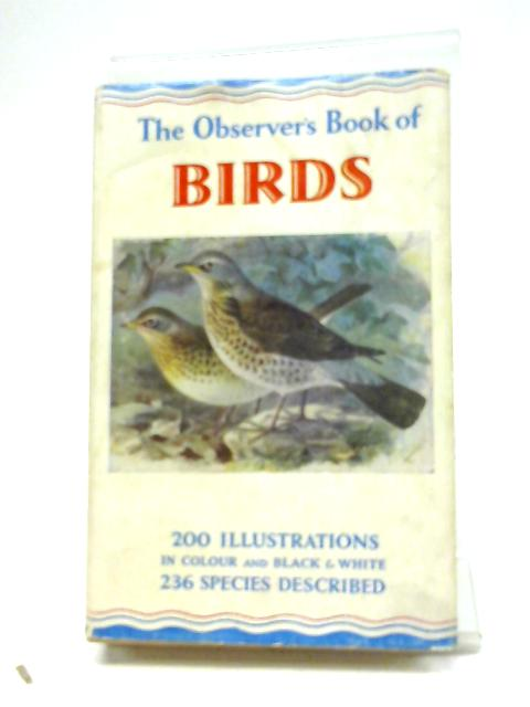 The Observer's Book of British Birds (New Edition 1952) (The Observer's Pocket Series) by S. Vere Benson