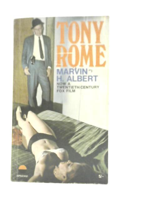 Tony Rome By Marvin H. Albert