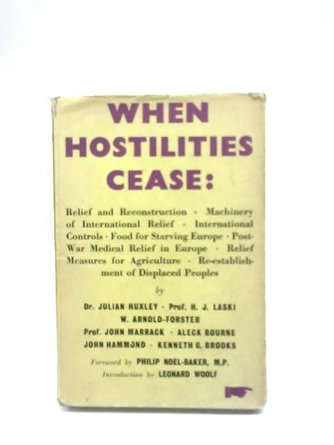 When Hostilities Cease By Various