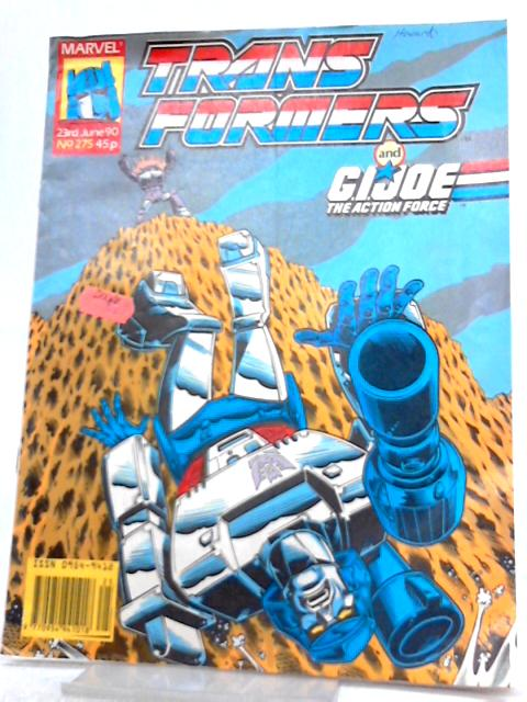 Transformers and GI Joe The Action Force: No. 275 23rd June 1990