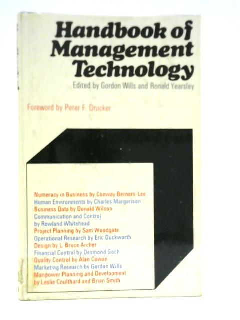 Handbook of Management Technology By Gordon Wills