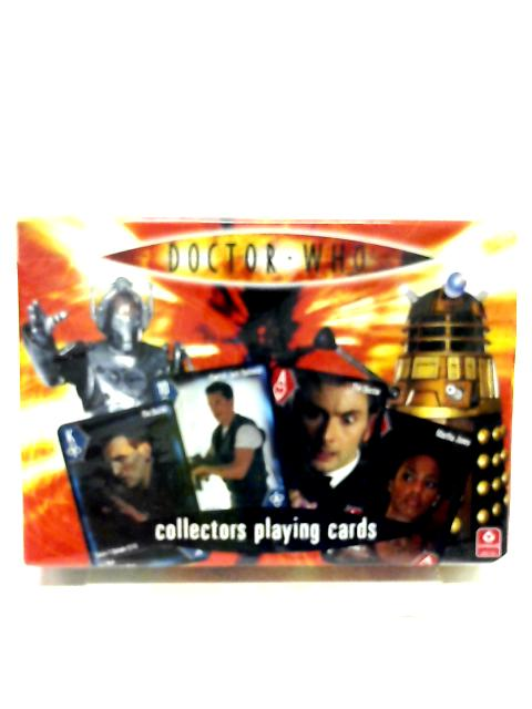 Doctor Who Collectors Playing Cards by