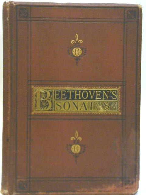 Beethoven's Sonatas For The Pianoforte By Agnes Zimmermann