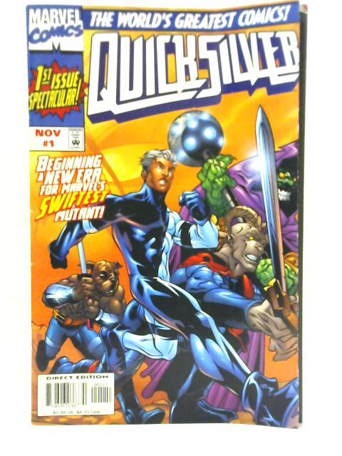 Quicksilver Volume 1 # 1 by Marvel Comics