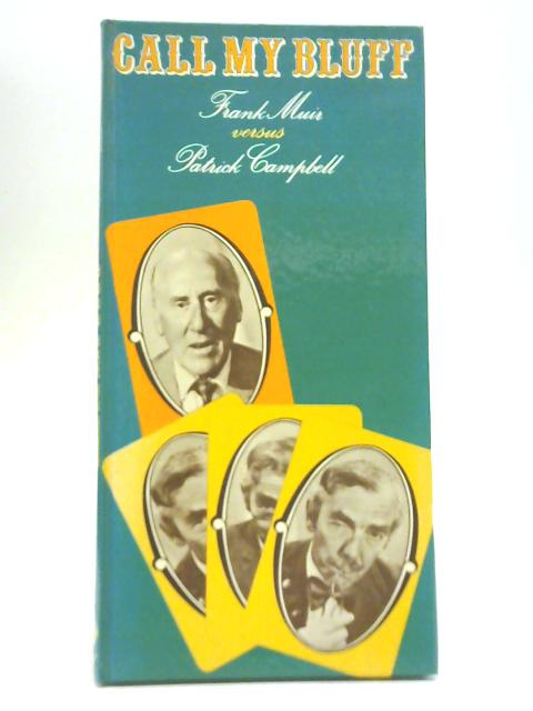Call My Bluff by Frank Muir versus Patrick Cambell