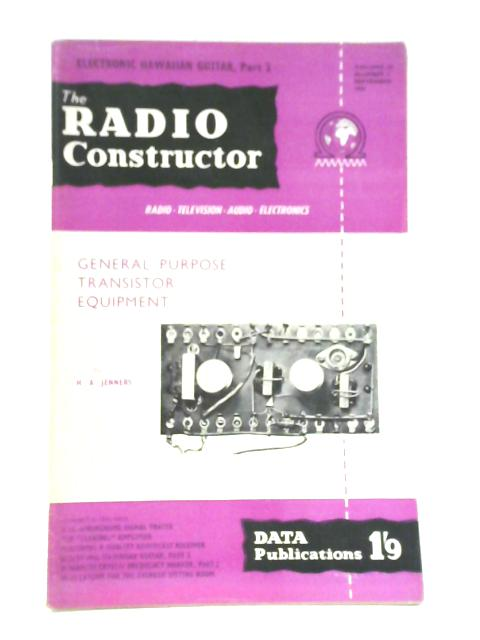 Radio Constructor. Vol. 10 No. 2. September 1956 by Various