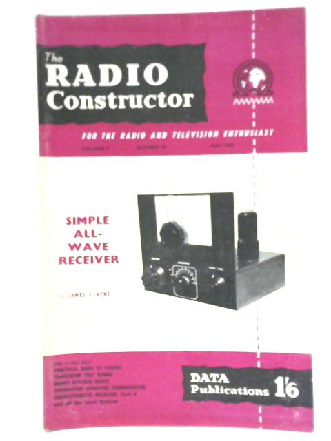 Radio Constructor. Vol. 9 No. 10. May 1956 by Various