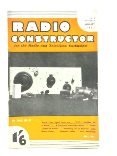 Radio Constructor. Vol. 5 No. 6. September 1952 by Various