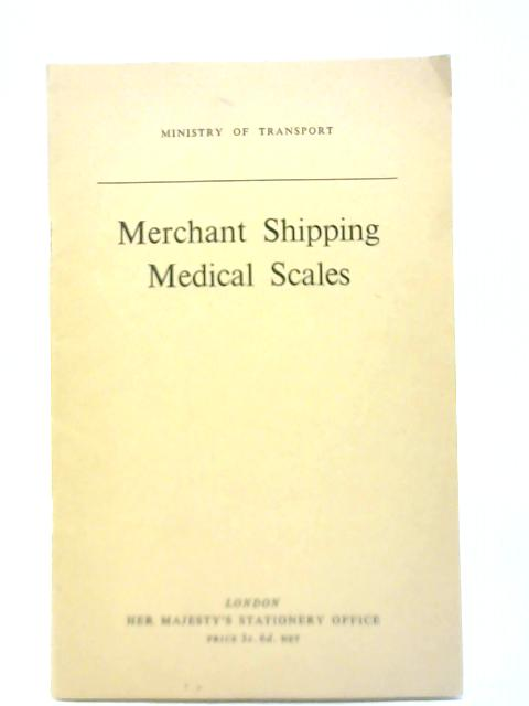 Merchant Shipping Medical Scales By Ministery of Transport