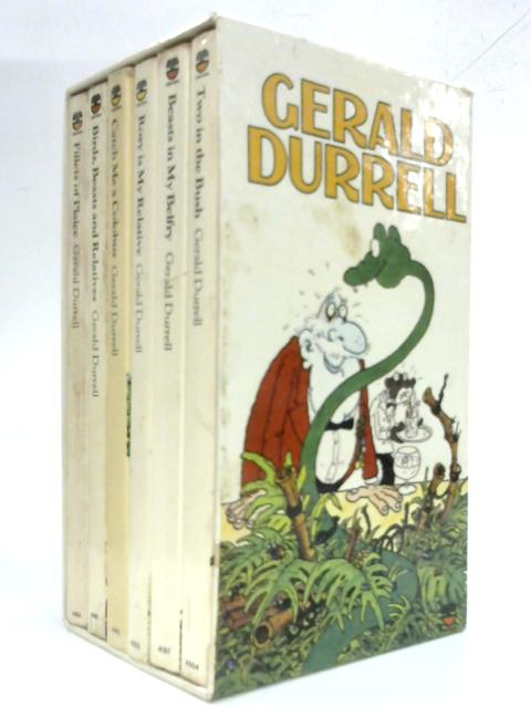 Beasts in My Belfry, Fillets of Plaice, Catch Me a Colobus, Birds, Beasts and Relatives, Rosy is MY Relative and Two in the Bush by Gerlad Durrell