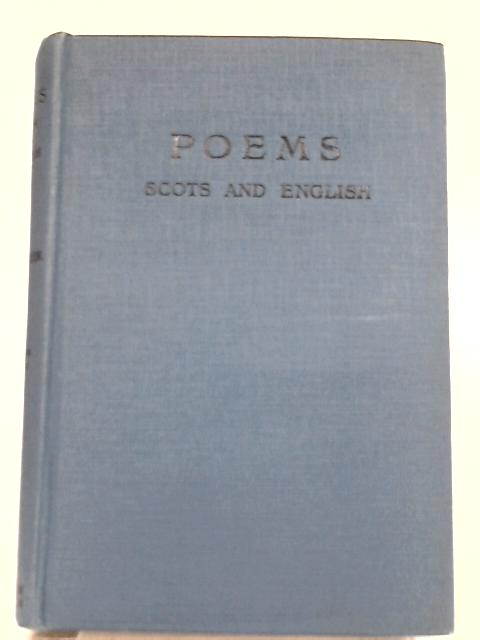 Poems Scots and English By William Dixon Cocker
