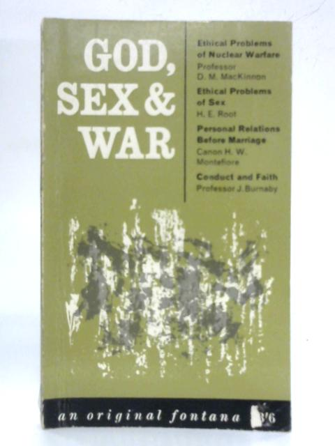 God, Sex and War by Various Contributors