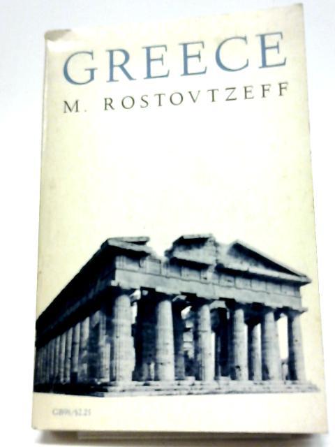 Greece (Galaxy Books) by M. Rostovtzeff