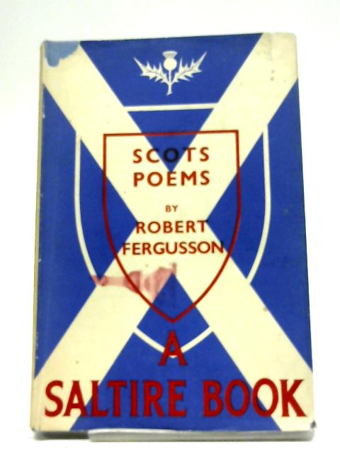 Scots Poems By Robert Fergusson